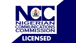 License By The Nigerian Communication Commission